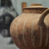 Red Polished Vase / Middle Bronze Age, Cyprus, 2500 BC